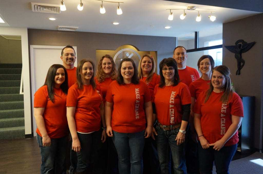 Go Red's Better U Challenge Partners: The Team at Loehr Chiro