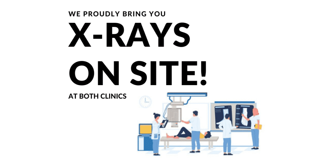 X-ray-on site